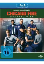 Chicago Fire - Staffel 4  [6 BRs] Blu-ray-Cover