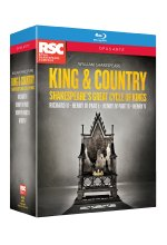 Shakespeare - King and Country Box  [4 BRs] Blu-ray-Cover