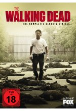 The Walking Dead - Die komplette sechste Staffel - Uncut  [6 DVDs] DVD-Cover