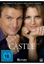 Castle - Staffel 8  [6 DVDs] DVD-Cover