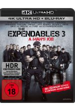 The Expendables 3 - Uncut  (4K Ultra HD) (+ Blu-ray) Cover