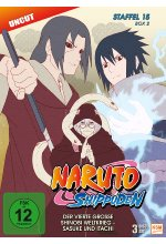 Naruto Shippuden - Staffel 15 - Box 2  [3 DVDs] DVD-Cover