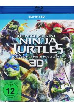Teenage Mutant Ninja Turtles - Out of the Shadows Blu-ray 3D-Cover