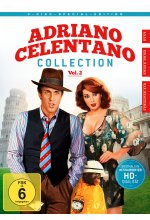 Adriano Celentano - Collection Vol. 2  [SE] [3 DVDs] DVD-Cover