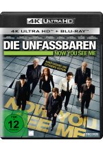 Die Unfassbaren - Now you see me  (4K Ultra HD) (+ Blu-ray) Cover
