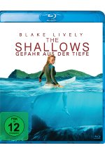 The Shallows - Gefahr aus der Tiefe Blu-ray-Cover