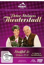 Peter Steiners Theaterstadl - Staffel 2/Folgen 17-32  [8 DVDs] DVD-Cover
