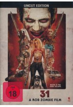 31 - A Rob Zombie Film - Uncut DVD-Cover
