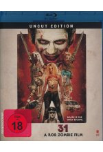 31 - A Rob Zombie Film - Uncut Blu-ray-Cover