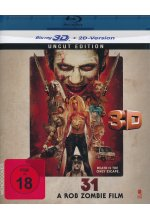 31 - A Rob Zombie Film - Uncut  (inkl. 2D-Version) Blu-ray 3D-Cover