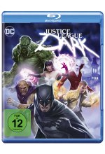 Justice League Dark Blu-ray-Cover
