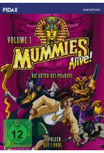 Mummies Alive - Die Hüter des Pharaos Vol. 3 [2 DVDs] DVD-Cover