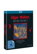 Edgar Wallace Edition 2  [3 BRs] (Blu-ray Box mit Logo) Blu-ray-Cover