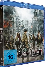 Attack on Titan - Film 2 - End of the World Blu-ray-Cover