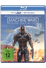 Machine Wars - Planet der Roboter  (inkl. 2D-Version) Blu-ray 3D-Cover
