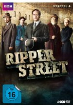 Ripper Street - Staffel 4 - Uncut   [3 DVDs] DVD-Cover
