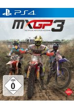 MXGP 3 - The Official Motocross Videogame Cover