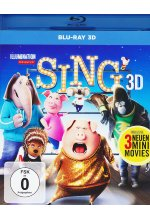 Sing Blu-ray 3D-Cover