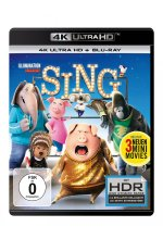 Sing  (4K Ultra HD) (+ Blu-ray) Cover