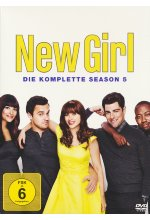 New Girl - Season 5  [3 DVDs] DVD-Cover