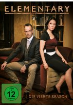 Elementary - Season 4  [6 DVDs] DVD-Cover
