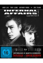 Infernal Affairs 1-3 - Trilogie - Uncut/Steelbook  [LE] [3 BRs] Blu-ray-Cover