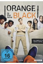 Orange is the New Black - 4. Staffel  [5 DVDs] DVD-Cover