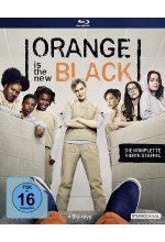 Orange is the New Black - 4. Staffel  [4 BRs] Blu-ray-Cover