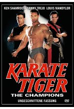 Karate Tiger - The Champions - Uncut DVD-Cover