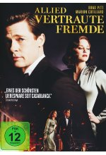 Allied - Vertraute Fremde DVD-Cover