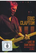 Eric Clapton - Live in San Diego (with Special Guest JJ Cale) DVD-Cover