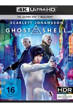 Ghost in the Shell  (4K Ultra HD) (+ Blu-ray) Cover