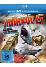 Sharknado 5 - Global Swarming (Uncut Fassung) Blu-ray 3D-Cover