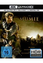 Die Mumie - Trilogy  (3 4K Ultra HD) (+ 3 Blu-rays) Cover