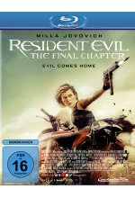 Resident Evil: The Final Chapter Blu-ray-Cover