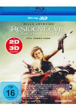 Resident Evil: The Final Chapter Blu-ray 3D-Cover