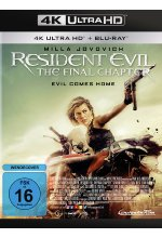 Resident Evil: The Final Chapter  (4K Ultra HD) (+ Blu-ray) Cover