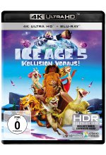 Ice Age 5 - Kollision voraus!  (4K Ultra-HD) (+ Blu-ray) Cover