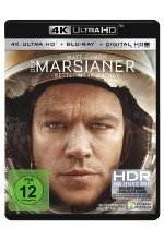 Der Marsianer - Rettet Mark Watney  (4K Ultra HD) (+ Blu-ray) Cover