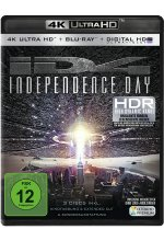 Independence Day  (4K Ultra-HD) (+ 2 Blu-rays) Cover