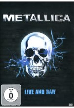 Metallica - Live & Raw DVD-Cover