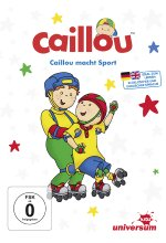 Caillou macht Sport DVD-Cover