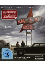 American Gods - Staffel 1 - Collector's Edition  [4 BRs] Blu-ray-Cover
