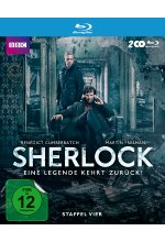 Sherlock - Staffel 4  [2 BRs] Blu-ray-Cover