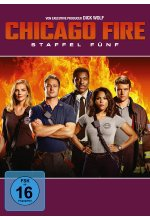 Chicago Fire - Staffel 5  [6 DVDs] DVD-Cover