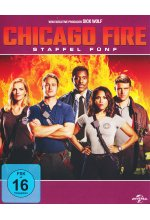 Chicago Fire - Staffel 5  [6 BRs] Blu-ray-Cover