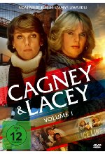 Cagney & Lacey - Volume 1  [5 DVDs] DVD-Cover
