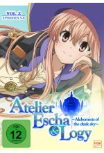 Atelier Escha & Logy - Alchemists of the dusk sky - Volume 2/Episode 05-08 DVD-Cover