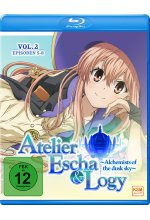Atelier Escha & Logy - Alchemists of the dusk sky - Volume 2/Episode 05-08 Blu-ray-Cover