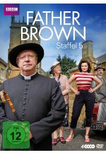 Father Brown - Staffel 5  [4 DVDs] DVD-Cover
